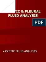 Ascitic Fluid Seminar