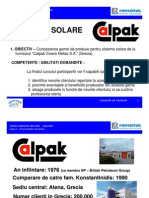 Panouri solare - Calpak