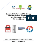 Save Program Guidelines Fridge Air Cond Consumers