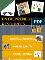 Entrepreneurial Resources & Leadership