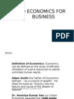 Micro Economics Part 1