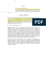 Differential Reactors for Kinetics Determination