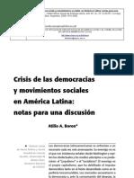 Crisis de Las DemocraciasDIGITAL