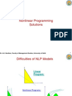 Nonlinear Programming Solution A