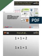 FOSS4G 2010 Presentation