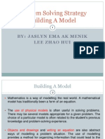 Basic Math Presentation - Building a Model