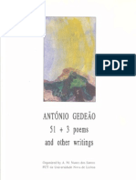 Nunes Dos Santos 1992 Antonio Gedeao 51+3 Poems and Other Writings