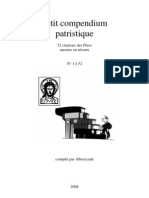 Compendium Patristique 1