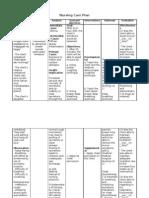 11 Nursing Care Plan