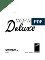 Fender Hot Rod Deluxe Manual