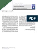 Algae Innovation Editorial
