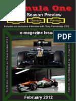 Formula One Season Preview 2012 E-magazine