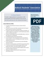 IMSA Activities Past and Future