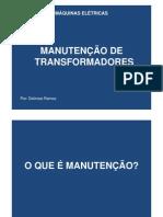 Manutenção transformadores