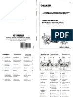 Manual de Usuario Yamaha Enticer YBA 125