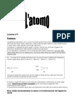 L'atomo (1)