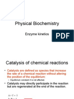 PhysBiochem Enzyme Kinetics