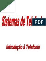 Sistemas de Telefonia I (Introdução à Telefonia)