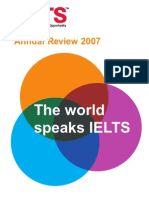 IELTS Annual Review 2007