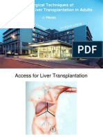 Surgical Techniques Or Tho Topic Liver Transplantation