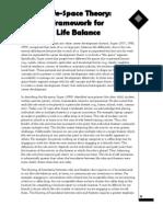 Super Life Space Theory - Balance