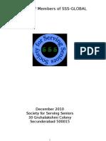 Directory of Members of SSS - Final - Dec 2010