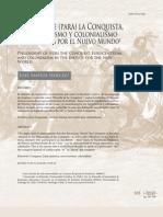 Santos Herceg - 2011 - Filosofía de (para) la Conquista Eurocentrismo y