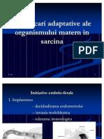 1 Modificari Adaptative Ale Organismului Matern in Sarcina