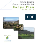 Long Range Plan, Inland Empire Natural Resources Conservation