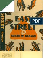 Easy Street - Roger w. Babson