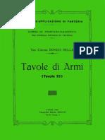 Tavole di armi 1928