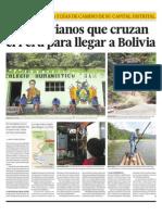 Los bolivianos que cruzan el Perú para llegar a Bolivia