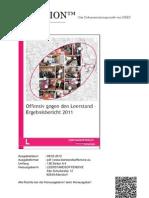Ergebnisbericht d. LeerstandsOffensive 2011 (CO-LECTION 01.2012)