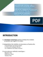 Simulation Du Remplissage Sous Pression