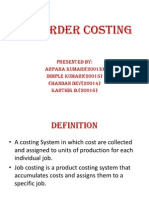 Job Order Costing Ppt