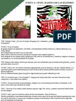 Entrevista a Vicky de Las Klitorix