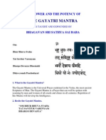 The Power &Potency of Gayatri Maha Mantra