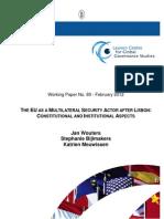 EU as a Multilateral Security Actor