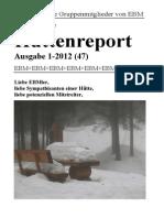 Hüttenreport 1-2012