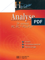 HPrépa - Analyse 2eme Année