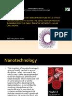 Biosensor Based on Carbon Nanotube Field Effect