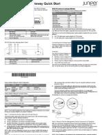 Srx210 Quick Start Guide