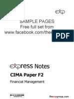 Cima f2 2012 Notes