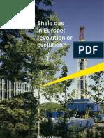 Shale Gas in Europe Revolution or Evolution