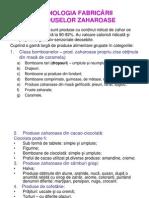 Tehnologia Fabricarii Produselor Zaharoase si a Bomboanelor Umplute / TGIA 2 - curs 1