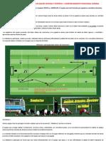 RONDO POSICIONAL - SALIDA DE BALÓN - PROFUNDIDAD - NIVEL 1-2 - RESISTENCIA - 13-15