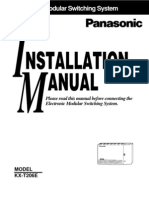 Panasonic 206 Manual