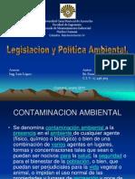 Presentación MANTENIMIENTO IV POLITICA AMBIENTAL