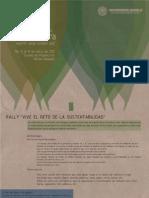 Rally Vive el Reto de La Sustentabilidad