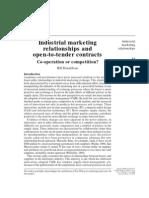 Industrial Marketing Relationships_Donaldson B_1996